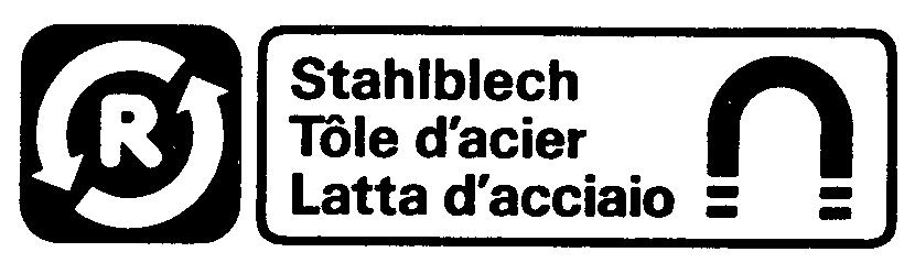 R Stahlblech Tôle d'acier Latta d'acciaio