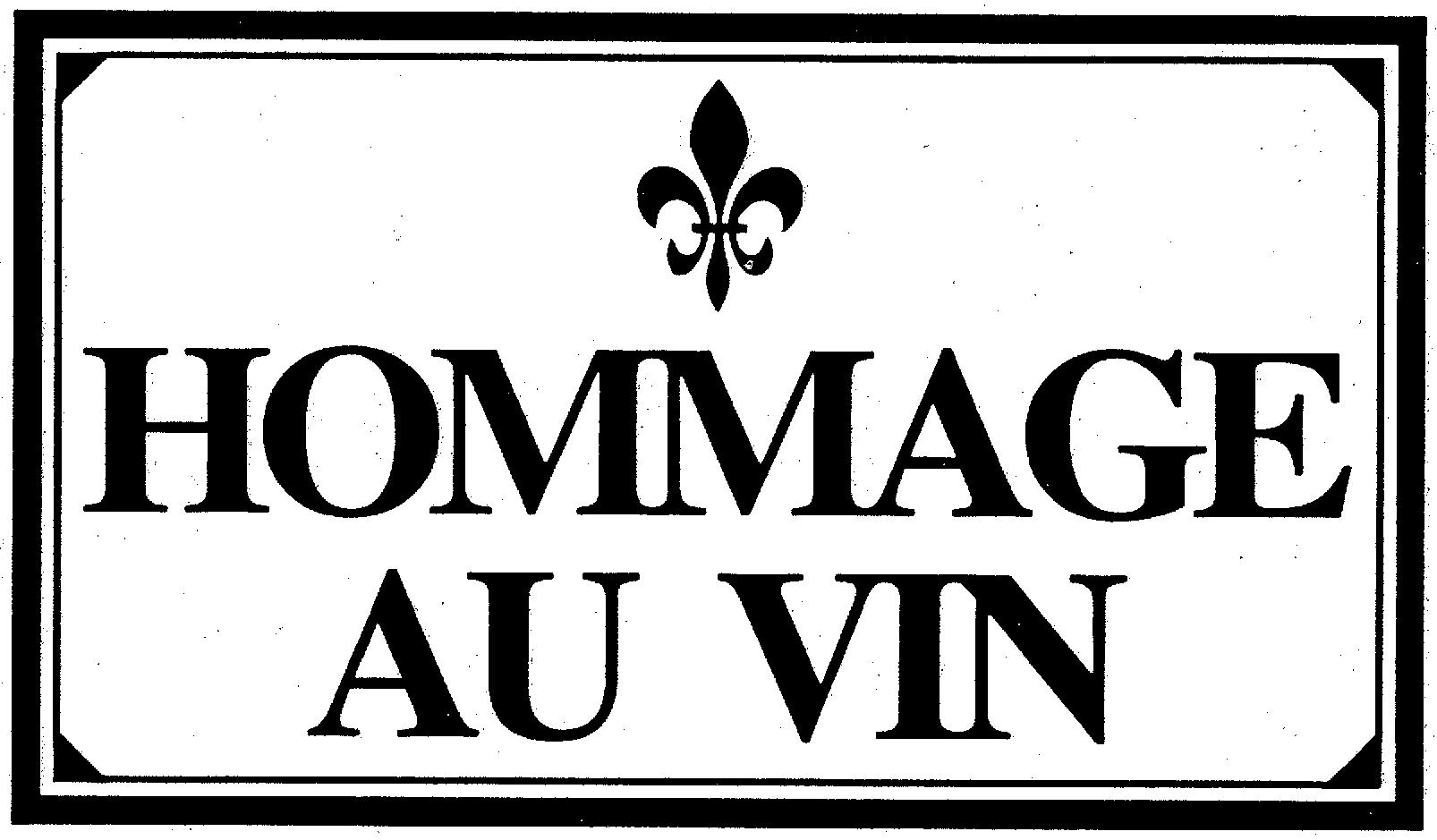 HOMMAGE AU VIN