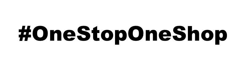 #OneStopOneShop