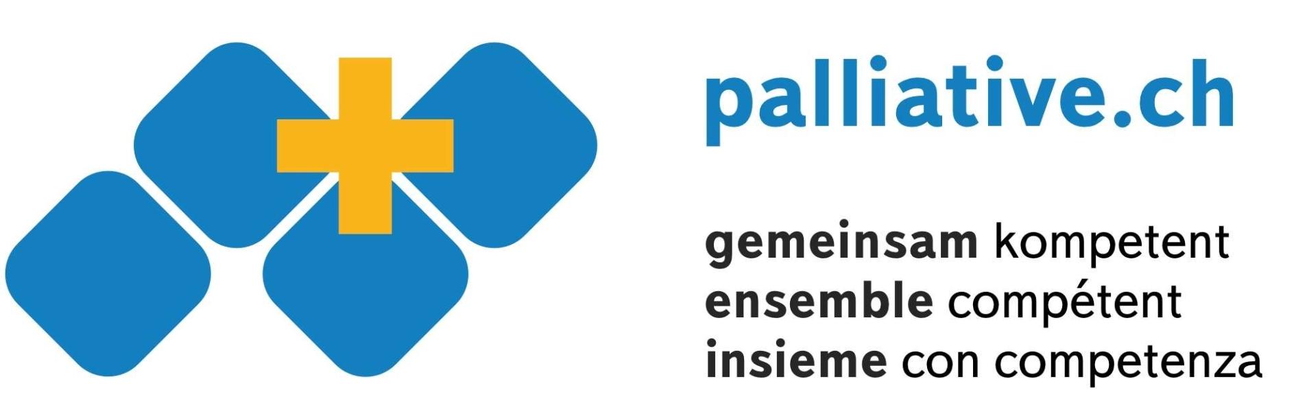palliative.ch gemeinsam kompetent ensemble compétent insieme con competenza