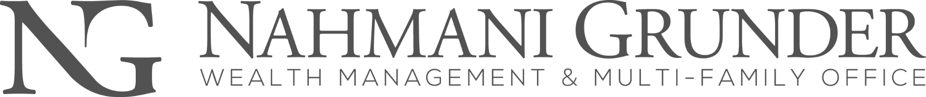 NG NAHMANI GRUNDER WEALTH MANAGEMENT & MULTI - FAMILY OFFICE